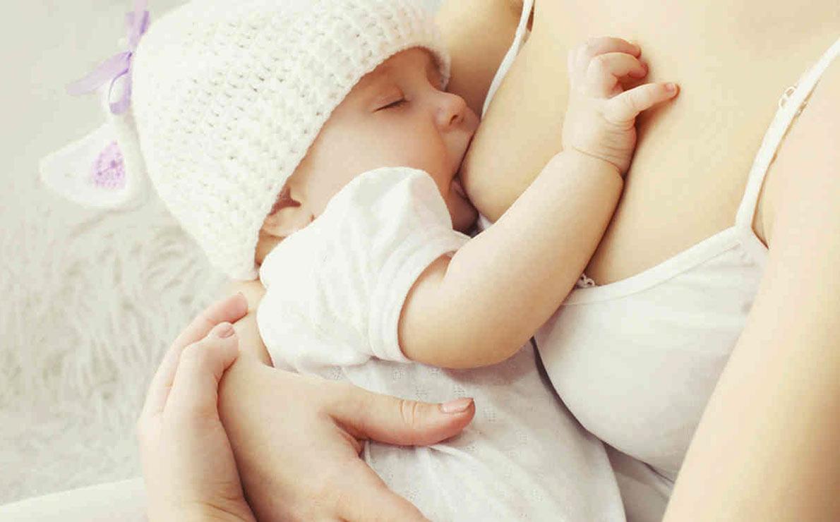 es importante no dejar de dar leche materna a los bebes