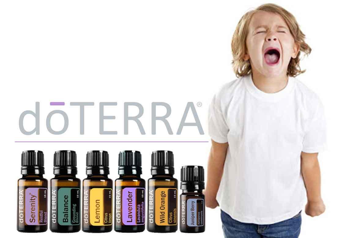 Apacigua berrinches, crisis y rabietas de tu niños de manera natural con dōTERRA®