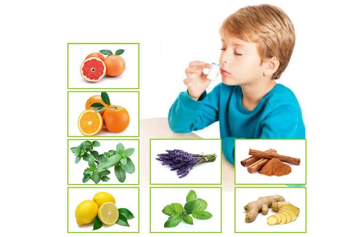 juego de memoria olfativo con aceites esenciales doTERRA
