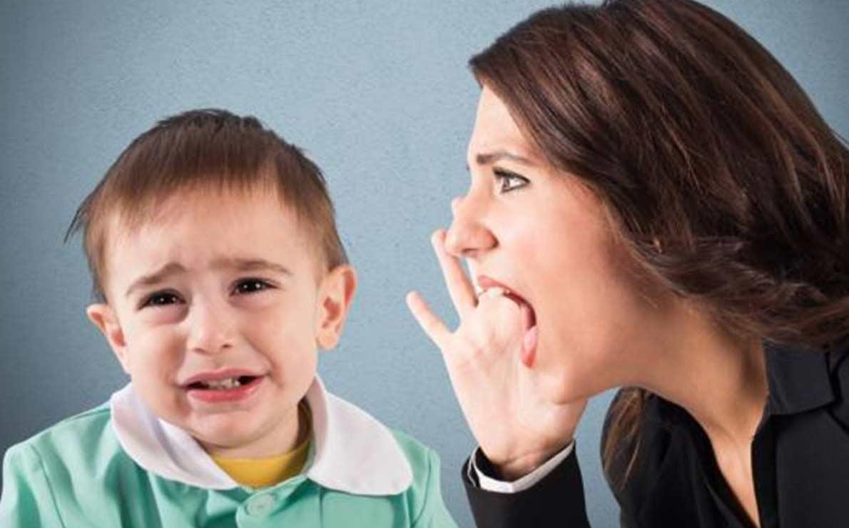 ¿que les sucede a los niños y a su cerebro cuando les gritamos?