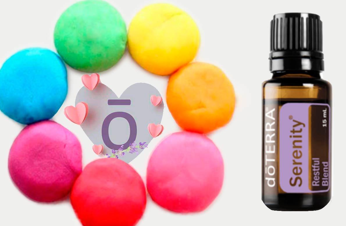 Plastilina aromática no toxica y relajante con Aceites Esenciales dōTERRA®