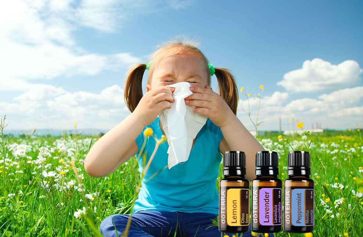 Alivia las alergias de niños y adultos con miel y dōTERRA®